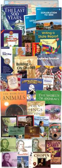 Exploration to 1850 Deluxe Package Curriculum