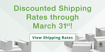 Discounted Shipping Rates through March 31st