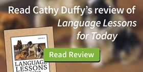 Read Cathy Duffy's review of Language Lessons for Today