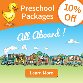 10% Off Our NEW Preschool Program! All Aboard!