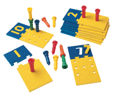 Number Puzzleboards & Pegs