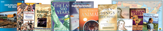 Homeschool Curriculum Package: Exploration to 1850