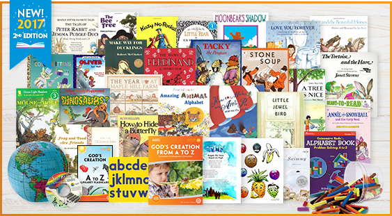 Homeschool Curriculum Package for Kindergarten