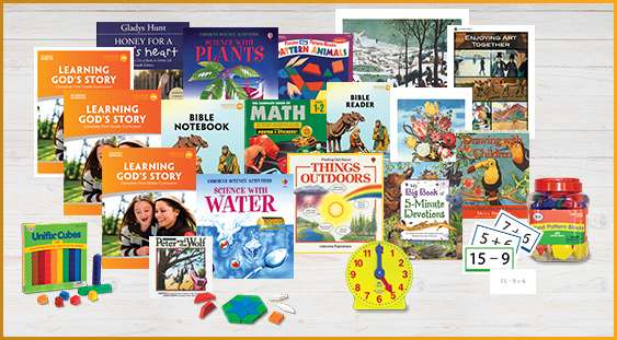 Homeschool Curriculum Package for First Grade