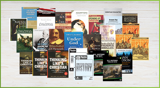 Homeschool Curriculum Package for US1