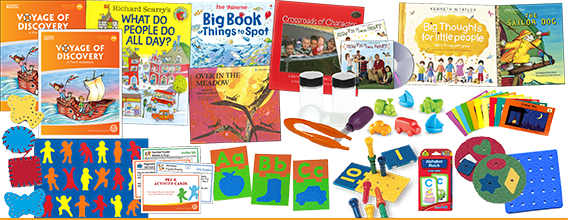 Homeschool Curriculum Package for Pre-K