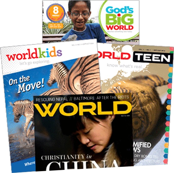 WORLD magazines