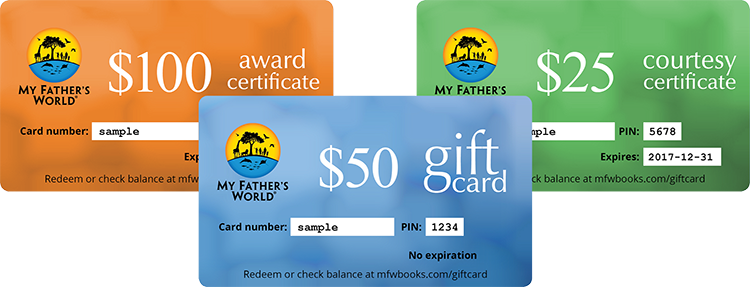 Gift Cards Courtesy Certificates Award Certificates