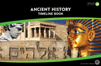 Ancient History Timeline Book