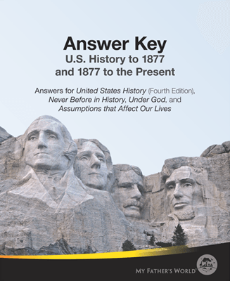 th grade homeschool curriculum u s history to my answer key for u s history to 1877 bju 4th edition