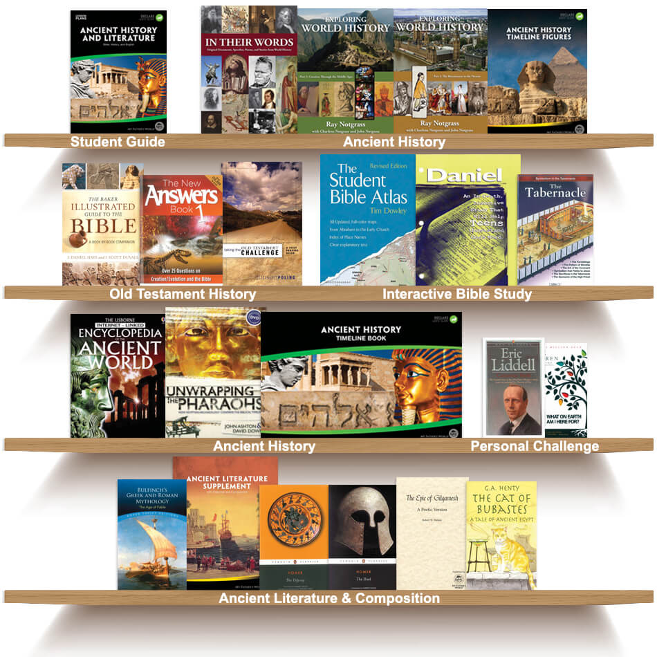 Ancient History and Literature High School Package