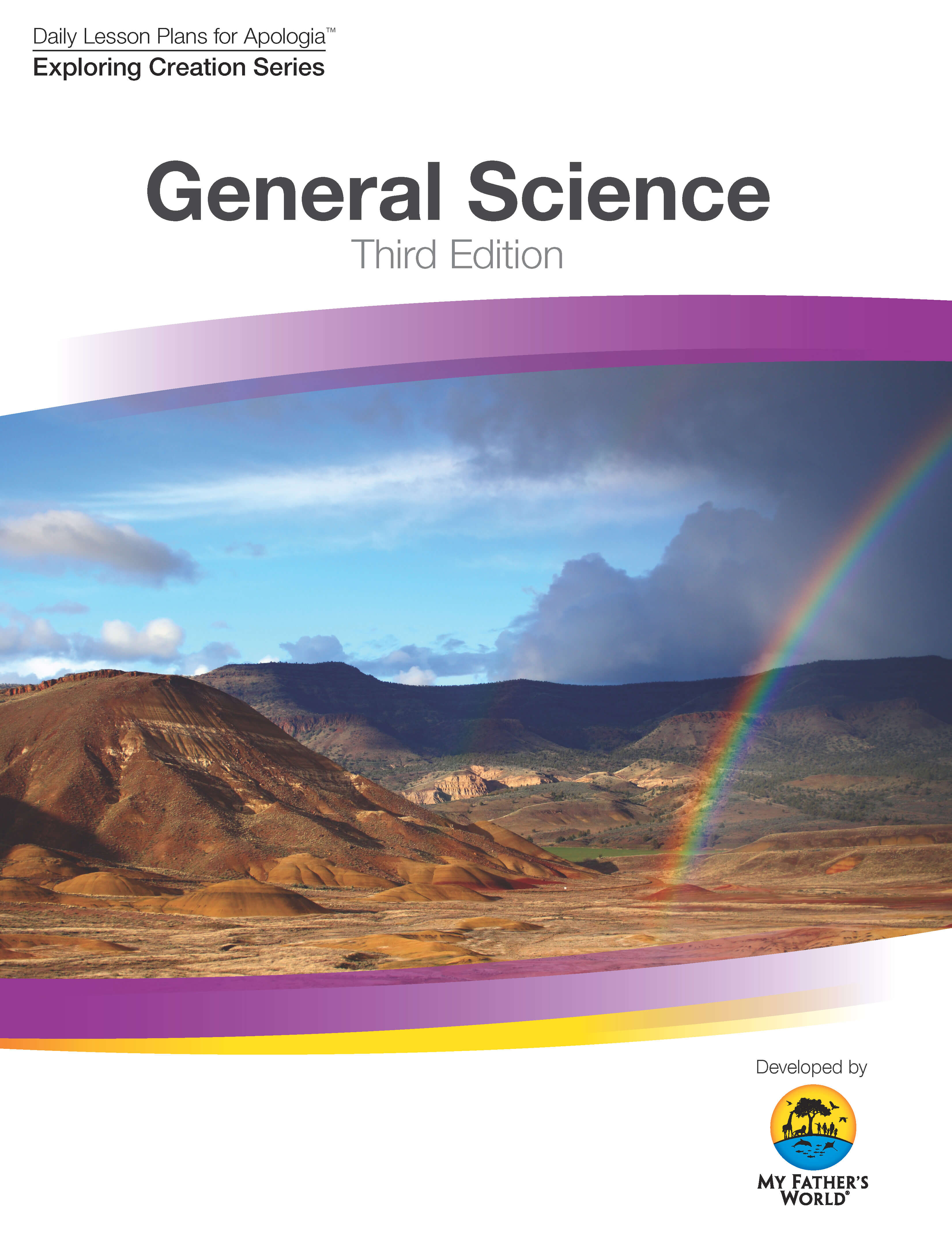 General Science, Daily Lesson Plans for Apologia 3rd Edition