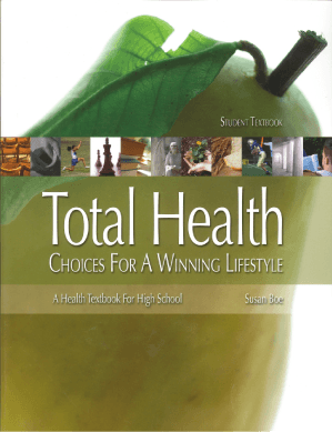 Total Health Student Textbook