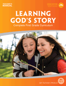 First Grade - Learning God's Story