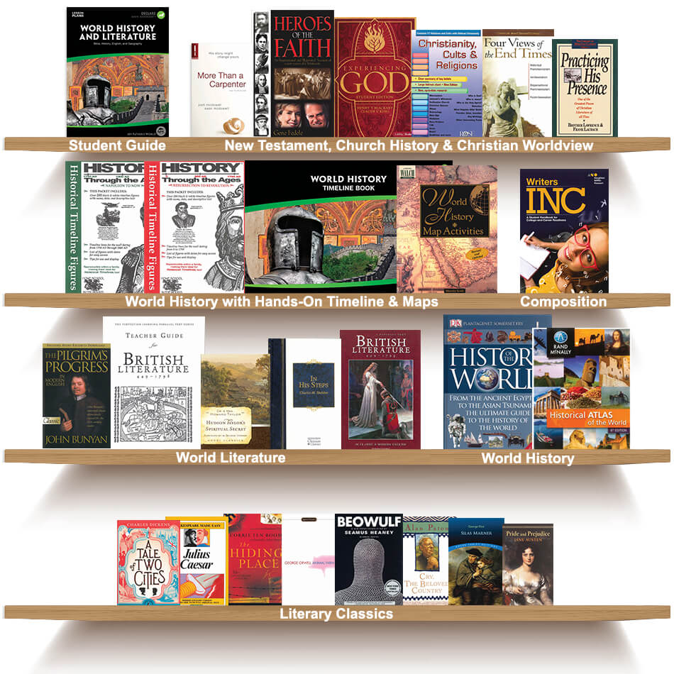 World History and Literature High School Package