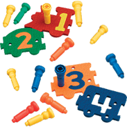 number express manipulative toy