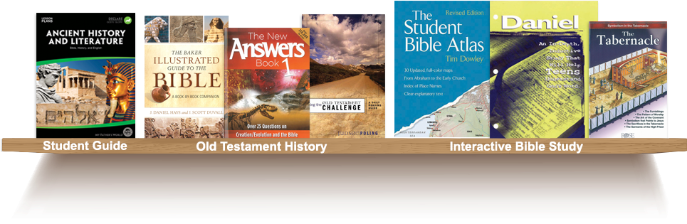 Bookshelf, Student Guide, Old Testament History, Interactive Bible Study