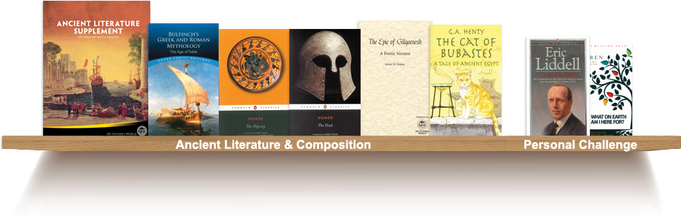 Bookshelf, Ancient Literature and Composition, Personal Challenge